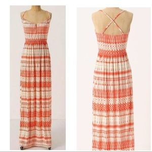 Anthropologie Deletta Shapeshifter Maxi Dress